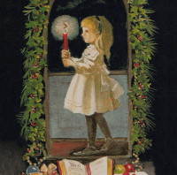 caspari_rare_card_-_girl_with_candle